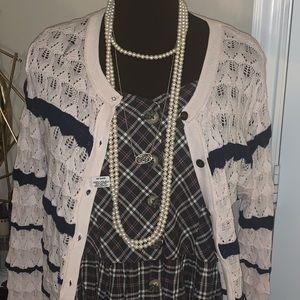 Long strand of real pearls NWT